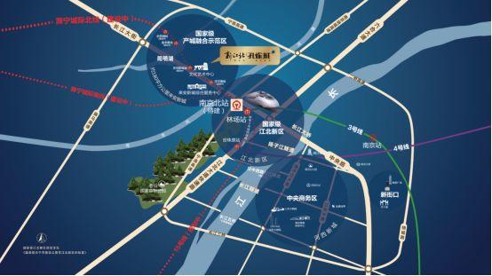 汊河新区规划图