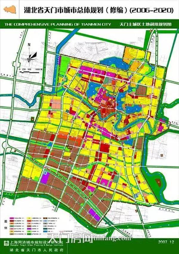 天门城市规划图
