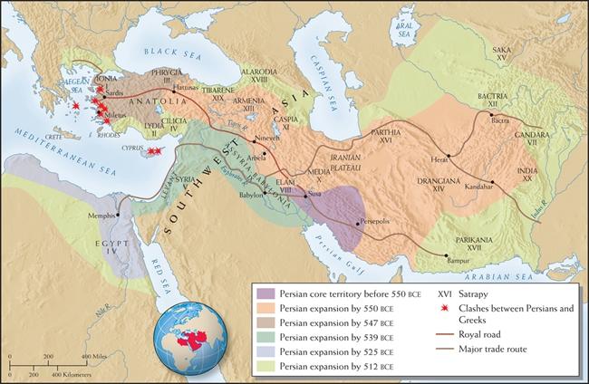 2400多年前,古波斯国王就能吃到地中海直达的海鲜