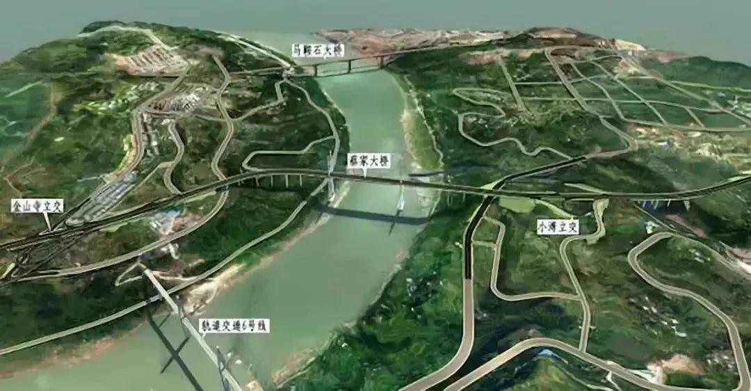 蔡家大桥规划图