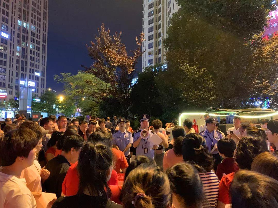 龙港公安分局深入开展创满意暨反诈宣传工作