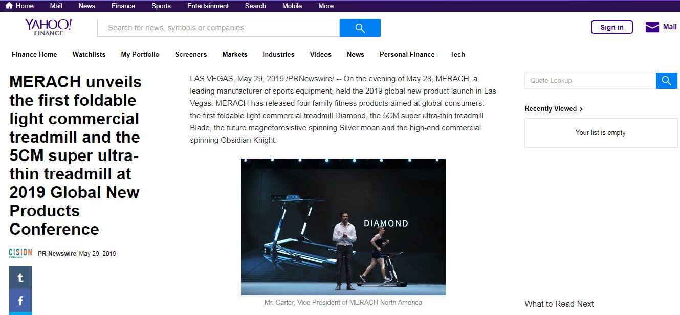 MERACH麦瑞克2019年美国全球新品发布会圆满落幕,5款划时代新品隆重登场!