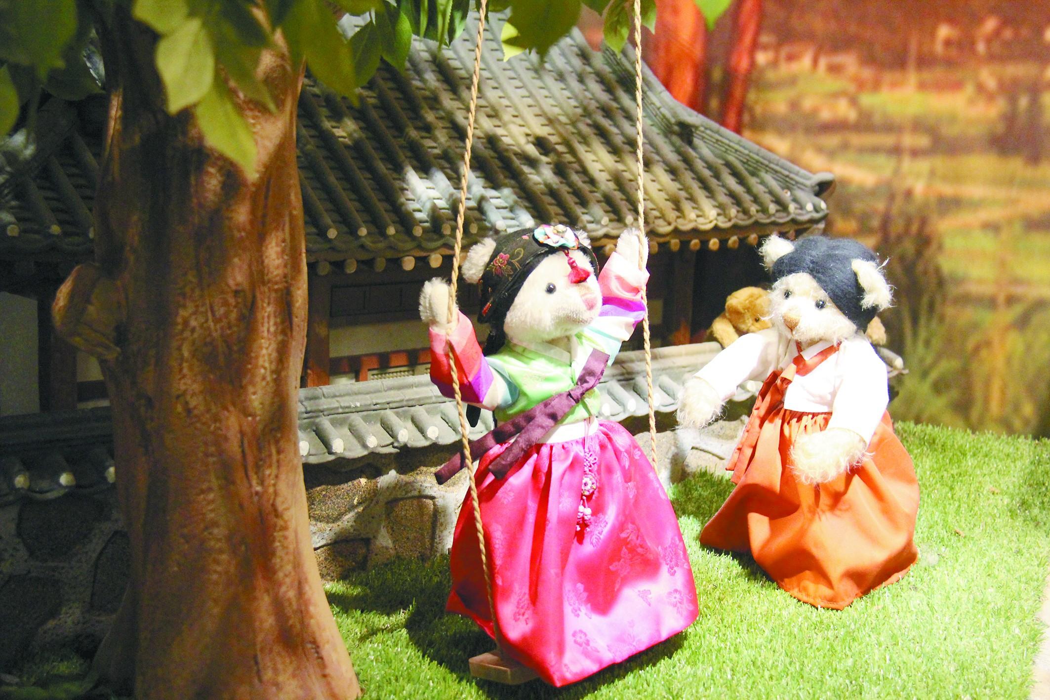 韩国拿泰迪熊当旅游名片