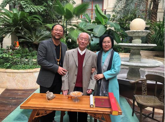 从远古时空走来的铜雕艺术家张哲长(桑吉泽仁)