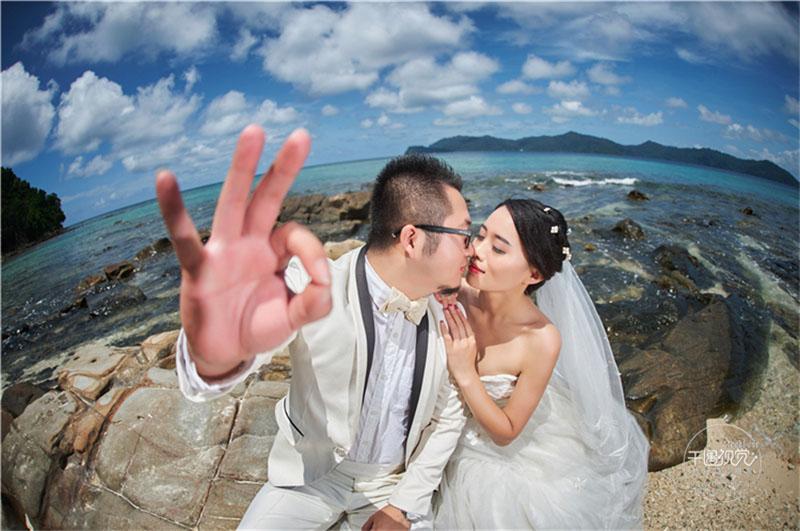 去沙巴旅拍晒晒我的沙巴婚纱照+婚纱摄影干货+最全热门景点攻略