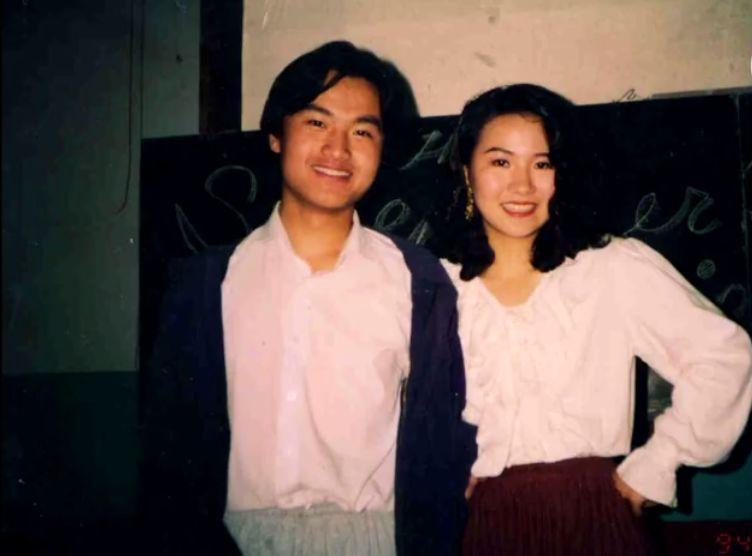 刘欣在南大排演《鞋匠的妻子》(图片来源:刘欣官博视频截图)
