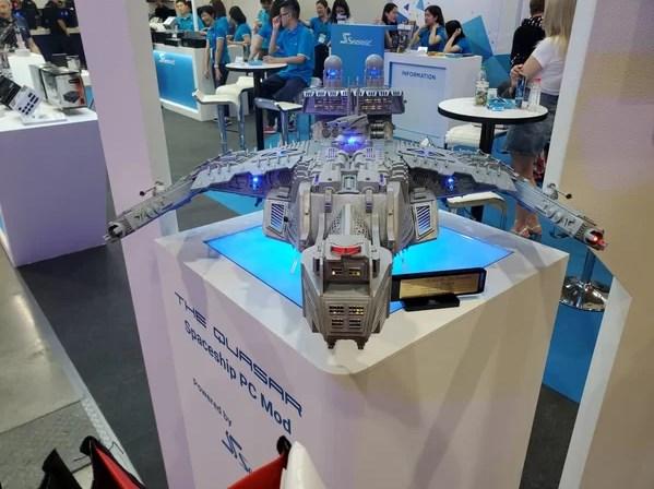 臺北電腦展2019:看看大神的自制diy機箱圖片