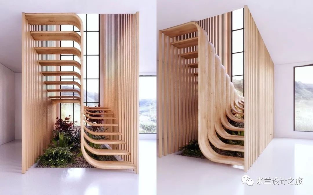 70款 令人惊叹的楼梯设计,每款都惊艳