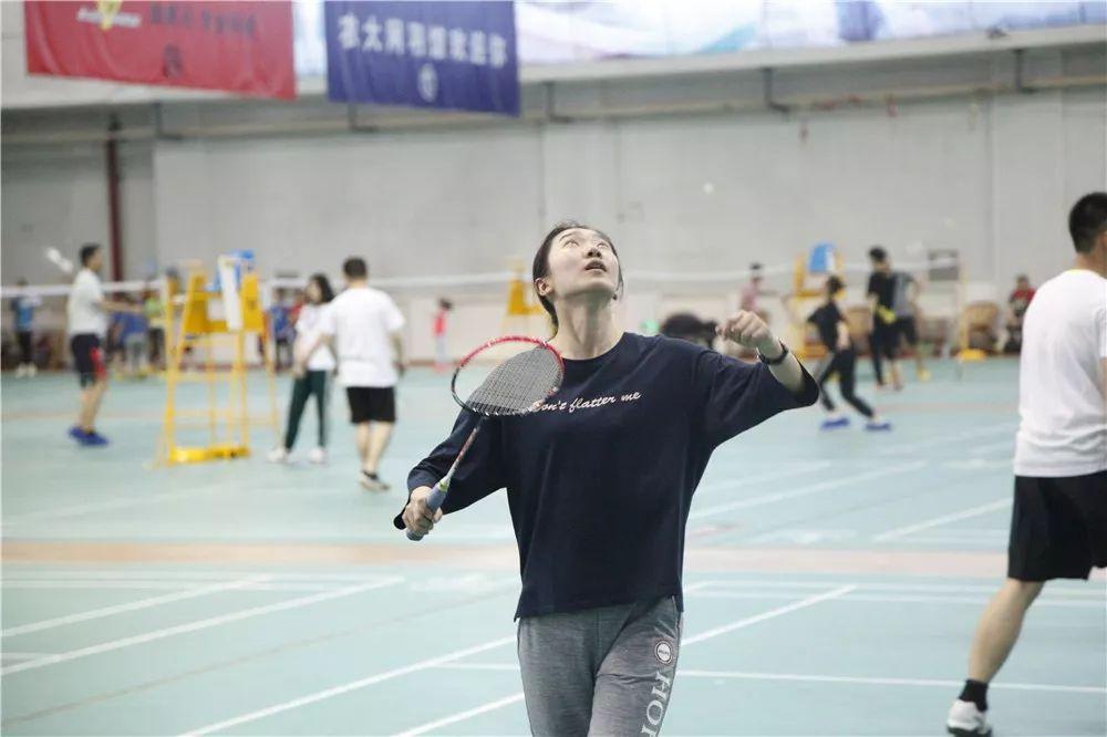 """我校举办""""三进两联一交友""""系列活动之羽毛球比赛图片"""