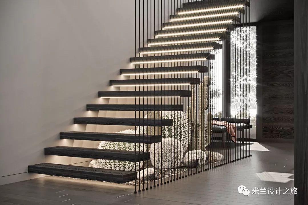 水泥楼梯设计图
