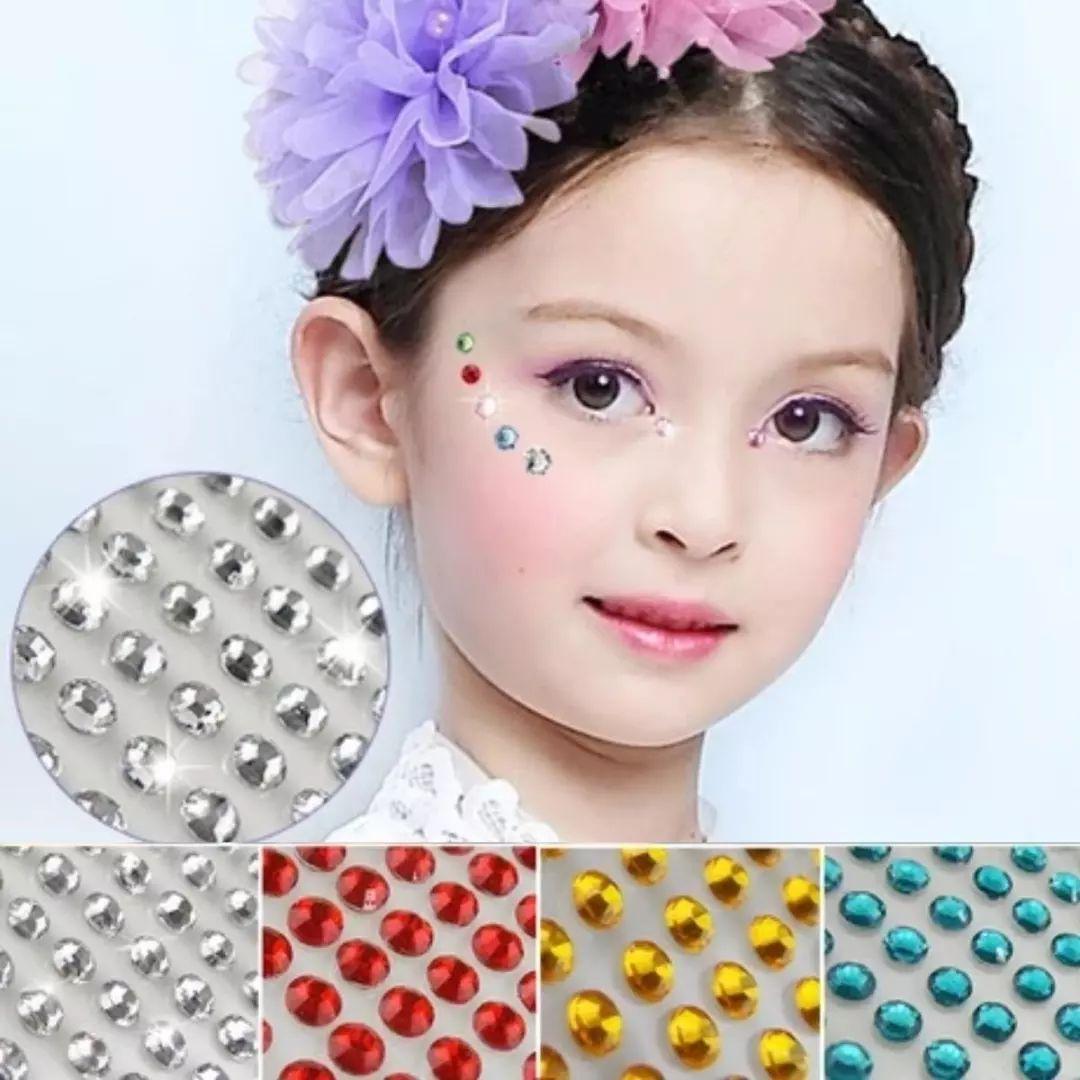 儿童演出妆容 儿童演出眼妆图片-元珍商城