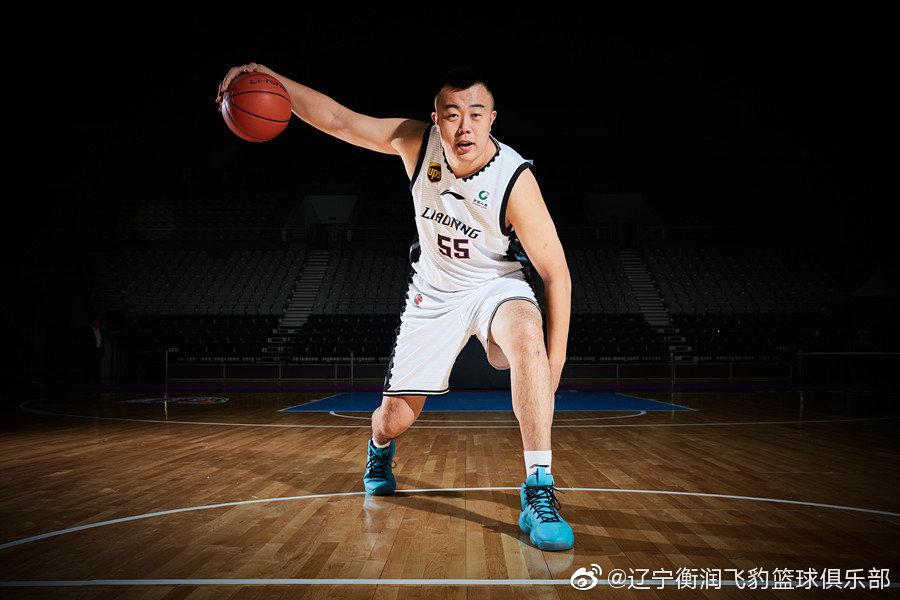 韓德君成為遼寧男籃新任隊長