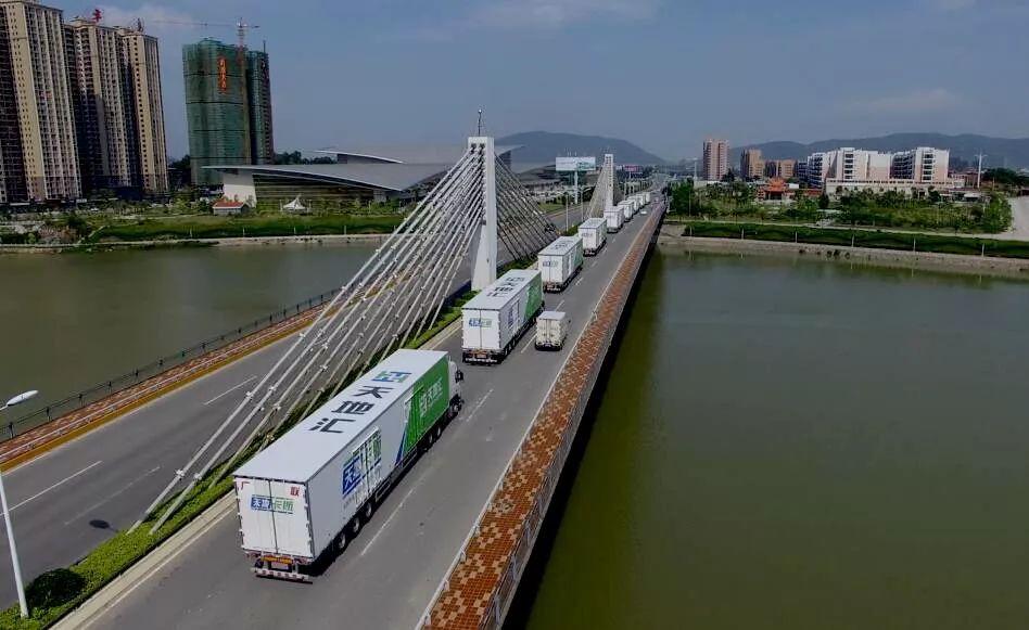 上海市交通运输行业协会物流分会会长陈建路一行来访天地汇!