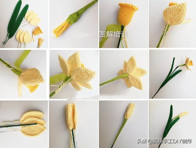 这些手工制作的室内花卉可以放在窗台上,全年都可以欣赏,而且永不凋谢