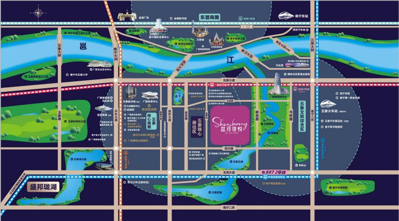 南宁盛邦珑悦获批244套预售证 地铁口好房即将首开