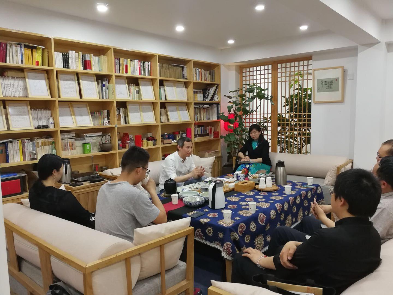 汉代杰出帝王的政治家精神——瑷瑅茶座文化沙龙20期成功举办