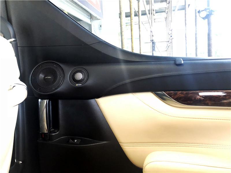 坐豪车就要听这样的音乐 丰田埃尔法汽车音响升级伊顿