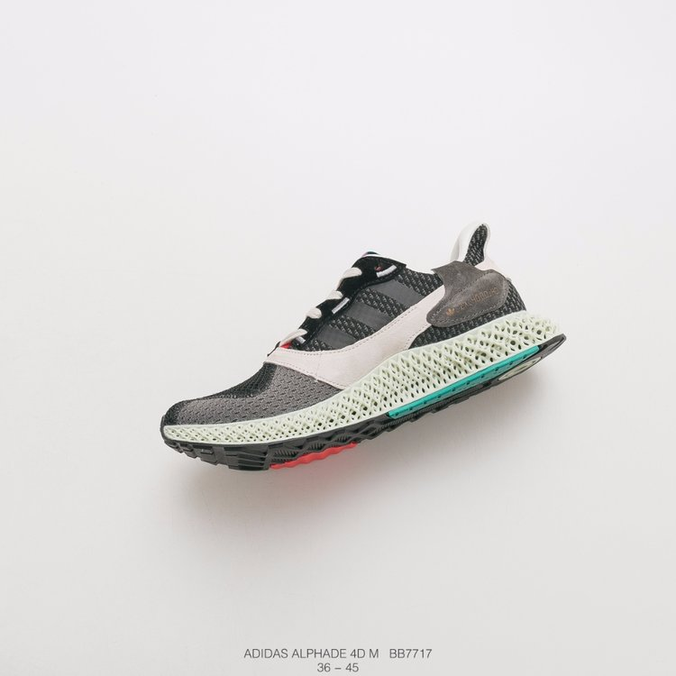全新理念跑鞋 阿迪达斯 4D打印跑鞋