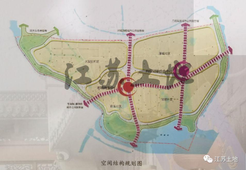 安化县城南区规划图