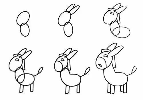 送给小朋友的简笔画,祝六一儿童节快乐