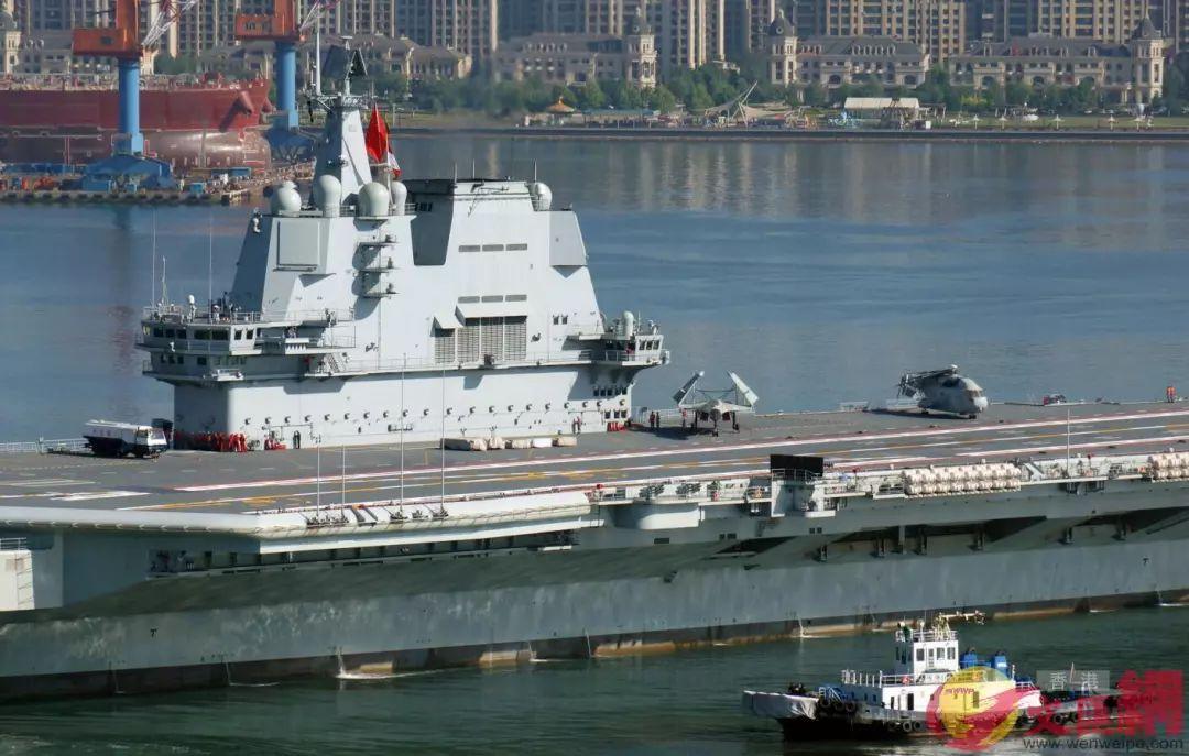 国产航母_国产航母海试归来,甲板上的痕迹让人惊喜!