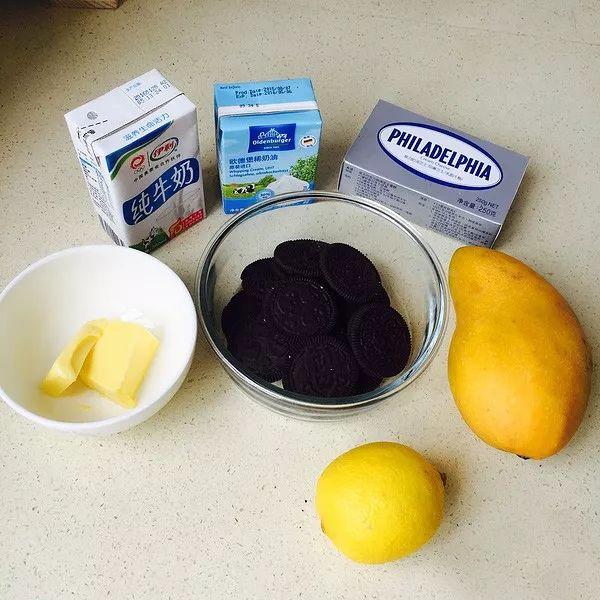 慕斯蛋糕 - 步骤1