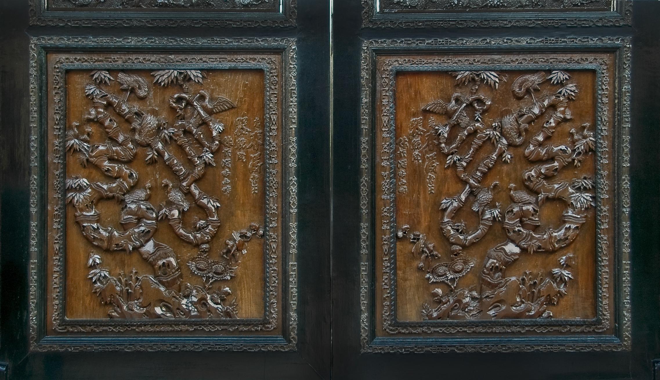 寻城记·广州陈家祠的那些事儿(二)——木雕图片
