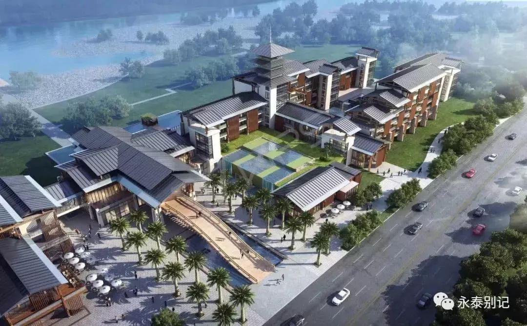 永泰县体育小镇规划图