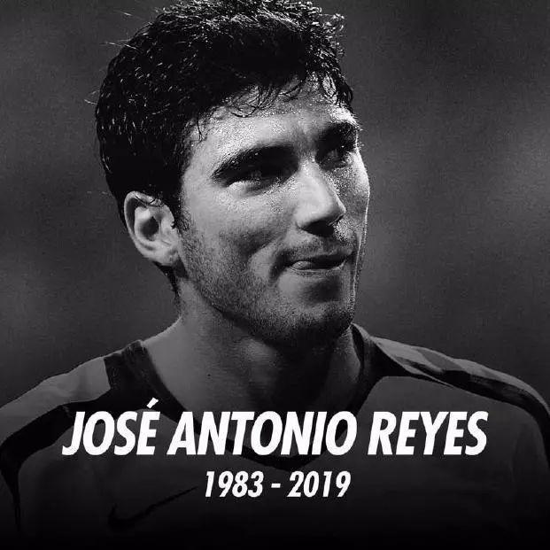 西班牙著名球星雷耶斯车祸去世