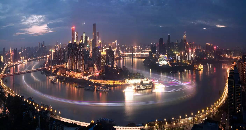 重庆F4GDP_重庆夜景