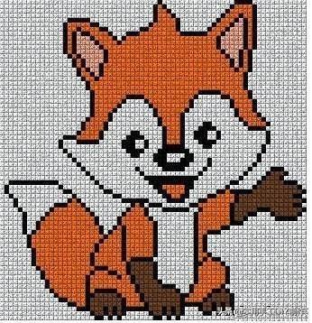 「十字绣图」100个可以绣在儿童毛衣上的十字绣图,给娃收好了