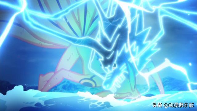 火影:最強的5隻雷遁魔獸,佐助麒麟,卡卡西雷犬,而他是雷龍_形態