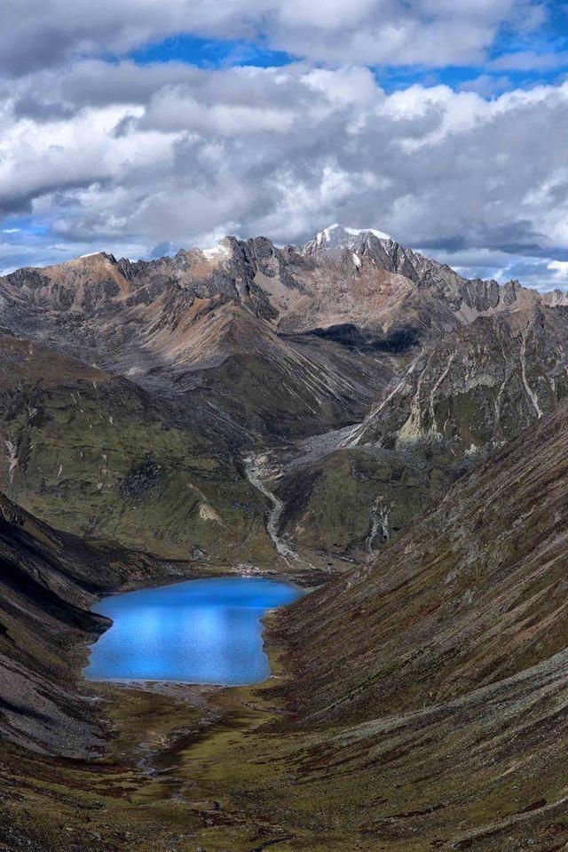 """西藏这个湖,能看见一个人的""""前世今生"""""""