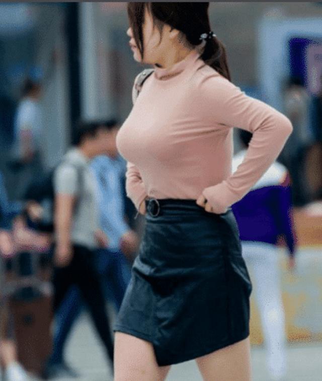 爆笑GIF圖:事實證明,選一條合適的裙子真的很重要