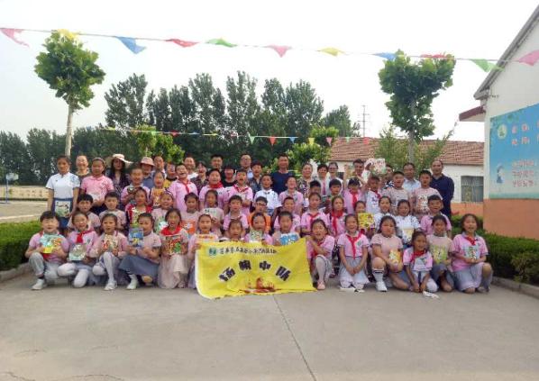 山东莒县公益文化发展中心开展为乡村儿童捐本书活动