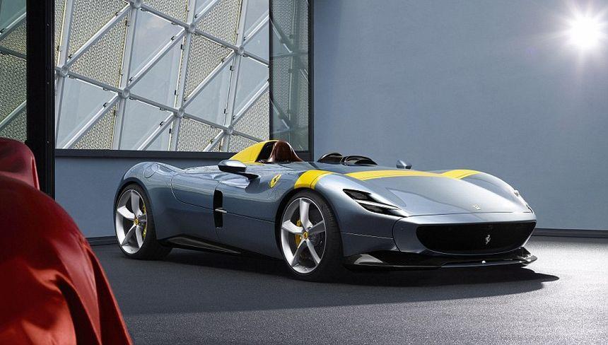 法拉利不公开售卖的车型Monza SP1曝光