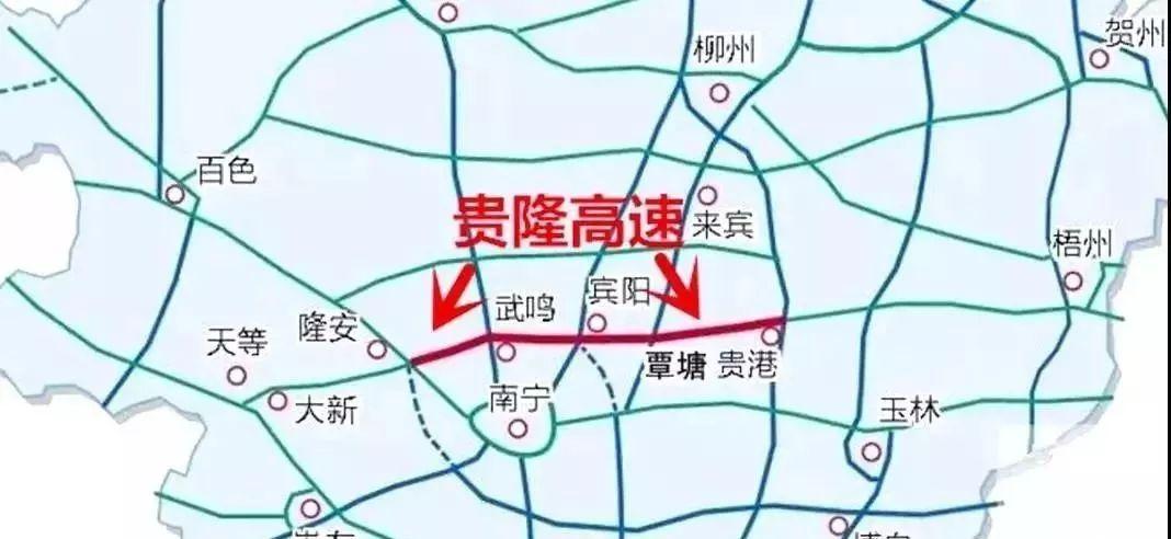 广西隆安最新规划图