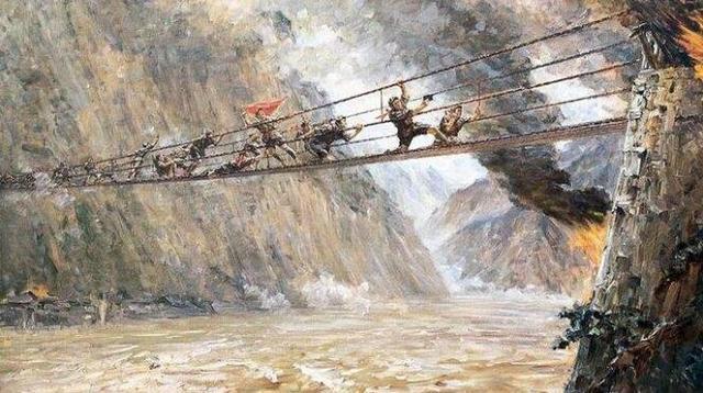 飞夺泸定桥:中国革命史上的不朽篇章