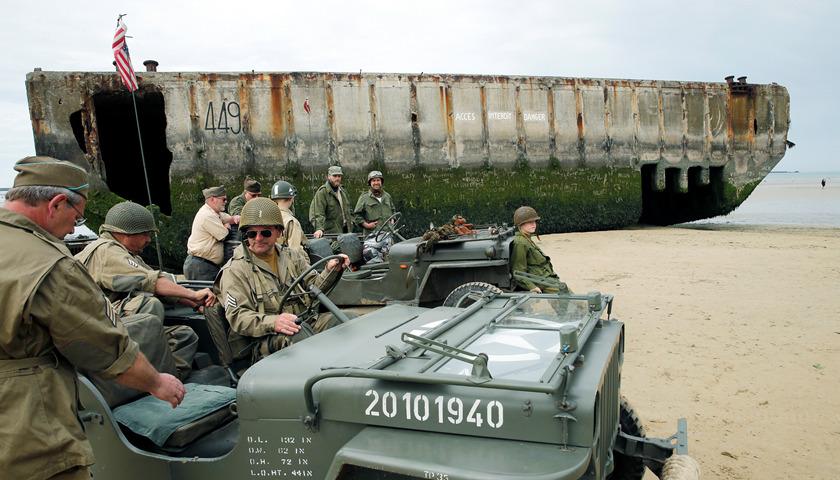 诺曼底登陆75周年:法国没邀请普京,俄罗斯人为