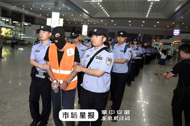 """合肥警方跨国出击 19名""""高富帅""""今晚被押回"""