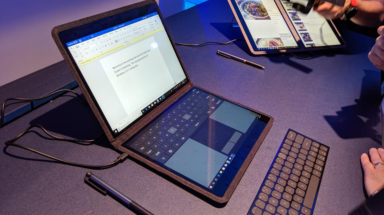 新款Surface将配备双屏?微软内部展示神秘新机,引发长队