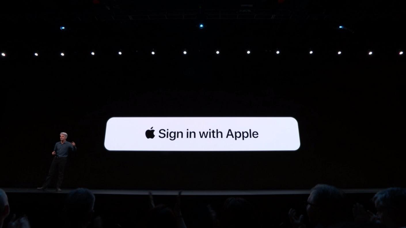 苹果将强制开发者使用 Sign in with Apple 快捷登陆功能