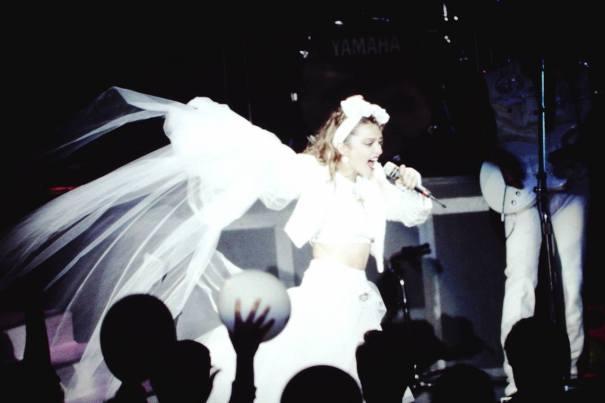 1985年的麥當娜真夠浪,家長她的這是照私密寄語初中優秀圖片
