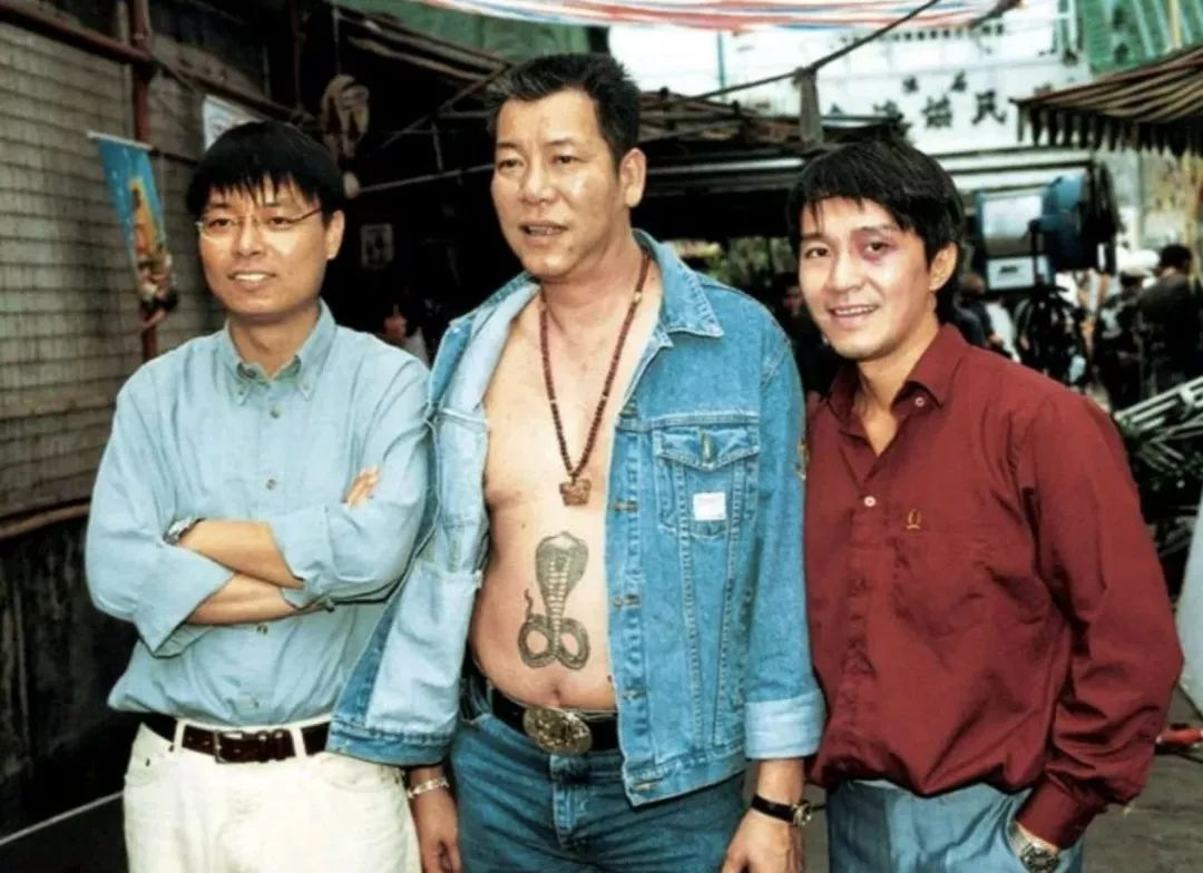 香港演员李兆基纹身_香港四大恶人,今天解散。_李兆基