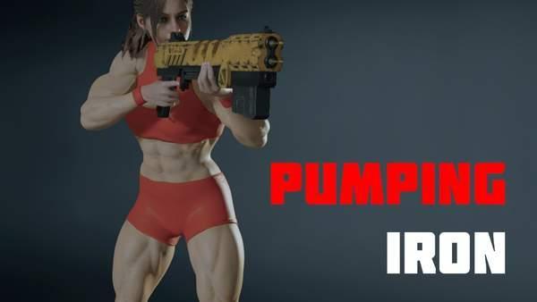 《生化危机2:重制版》克莱尔新Mod 变肌肉女战力爆棚 imeee.net