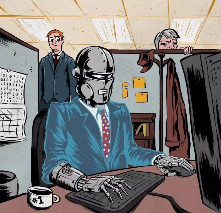 """《人工智能时代的未来职业报告》:365种职业在未来的""""被淘汰概率"""""""