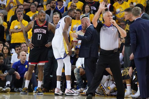 杜兰特小腿拉伤休战至总决赛,或是跟腱撕裂?