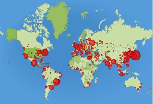 世界的人口排名_世界人口排名柱状图