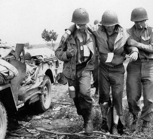 二战德军打日军_二战中,德军不杀盟军医护人员?日军专门瞄准他们射击?_战场