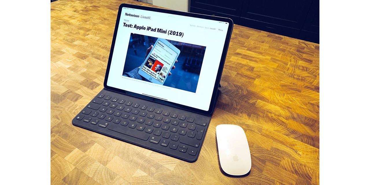 我笑了!苹果表示,我们知道使用带有iPad的鼠标会吸引许多人